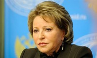 Chairwoman of Russian Federation Council visits Vietnam