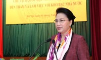 National Assembly Chairwoman works with State Treasury