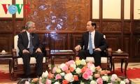 President Tran Dai Quang receives UN Resident Coordinator in Vietnam