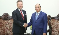 Prime Minister pledges favorable conditions for Czech businesses