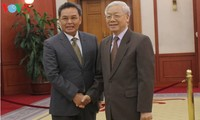 Strengthening friendship, cooperation between Vietnam, Cambodia, Laos