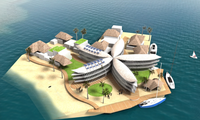 Floating city to fight rising sea level