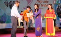 Scholarships awarded to poor students