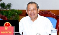Deputy Prime Minister works on Dong Thap's socio-economic performance
