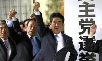 Japanese Prime Minister's ruling coalition wins lower house election