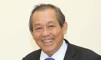 Deputy Prime Minister Truong Hoa Binh visits South Korea