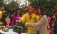 Spring festival in Con Son pagoda