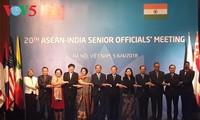 ASEAN, Indian senior officials convene 20th meeting