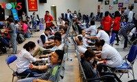 Blood donation saves lives of patients