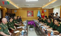Vietnam, Russia increase coordination in peacekeeping