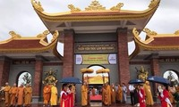 Zen Buddhist monastery inaugurated in Hau Giang