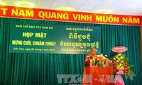 高棉族同胞团结战胜困难促进国家发展