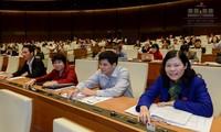 越南国会批准新一届政府成员名单