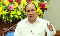 越南政府总理阮春福与企业的会议即将举行