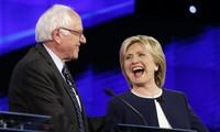 美国总统选举:伯尼·桑德斯宣布将投票给希拉里·克林顿
