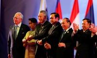 东盟峰会在老挝开幕