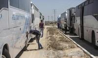 以色列在加沙地带外围修建隔离墙