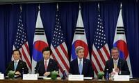 美韩同意努力应对朝鲜问题