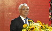 汪朱刘会见越南石油部门优秀代表
