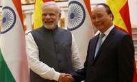 越南和印度关系正进入历史最好发展阶段