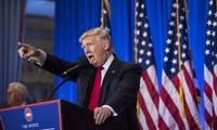 美国当选总统特朗普举行首次记者会