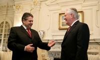 美国国务卿首次出访选择德国