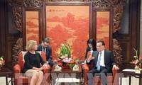 中国和欧盟在北京举行战略对话