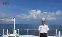 长沙群岛的出色指挥长黄明山