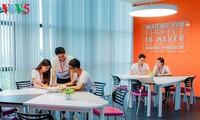 向学生传递读书兴趣的高科技图书馆