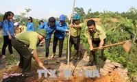 越南响应世界防治荒漠化和干旱日