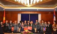 การสนทนาระดับสูงระหว่างกระทรวงยุติธรรมเวียดนามและลาว
