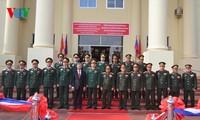 รัฐมนตรีว่าการกระทรวงกลาโหมเวียดนามเยือนสาธารณรัฐประชาธิปไตยประชาชนลาว