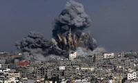 กองทัพอิสราเอลทำการโจมตีทางอากาศใส่ฉนวนกาซา
