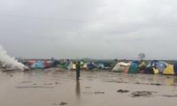 สหประชาชาติเตือนเกี่ยวกับความทุกข์ยากของผู้อพยพในเขตชายแดนระหว่างกรีซกับมาซิโดเนีย