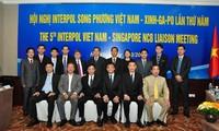ผลักดันความร่วมมือต่อต้านอาชญากรรมข้ามชาติระหว่างอินเตอร์โปลเวียดนามกับสิงคโปร์