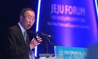 เลขาธิการใหญ่สหประชาชาติเรียกร้องให้ประเทศเอเชียแก้ไขปัญหาการพิพาทอธิปไตยโดยสันติวิธี