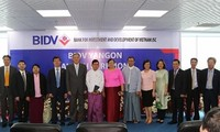 ธนาคาร BIDV เปิดสาขาในประเทศพม่า