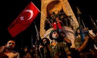 รัฐบาลตุรกีขัดขวางการก่อรัฐประหารได้สำเร็จ