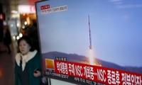 ญี่ปุ่นและสหรัฐประณามการยิงขีปนาวุธนำวิถีของเปียงยาง
