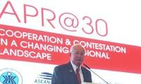 นายกรัฐมนตรีมาเลเซียเรียกร้องการแก้ไขปัญหาการพิพาทในทะเลตะวันออกบนพื้นฐานของกฎหมายสากล