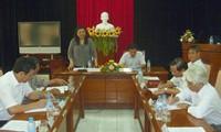 Dirigente del Parlamento en la provincia de Phu Yen