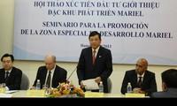 Vietnam aboga por invertir en la zona especial de desarrollo Mariel de Cuba