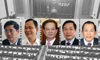Ministros y jefes de ramas comparecen en el Parlamento vietnamita