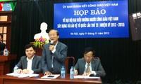 Se celebrará en Hanoi Congreso de los Católicos vietnamitas