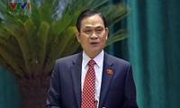 Ministros del Interior y de Información y Comunicación rinden cuenta en el Parlamento