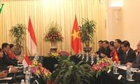 Fortalecen cooperación legislativa  Vietnam e Indonesia