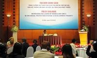 Vietnam por garantizar bienestar social e igualdad de género