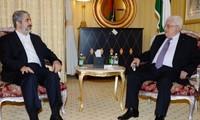 Presidente de Palestina se reúne con líder del movimiento Hamas