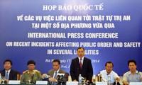 Comprometido Vietnam en garantizar seguridad de personas y bienes extranjeros en el país