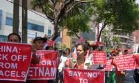 Rechaza comunidad internacional actos provocativos chinos en el Mar Oriental
